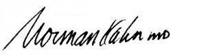 Dr. Kahn Signature
